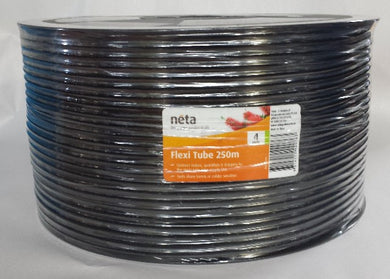 4mm Flexible Spaghetti Tube PPVC X 250M