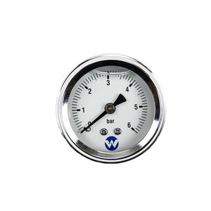 "50mm DAB Stainless Steel Glycerin Filled Pressure Gauge with 1/4"" Back Entry"