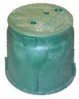 Large Round Heavy Duty Valve Box 235mm top x 255mm deep (HR0910VB)