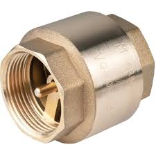 20mm Heavy Duty Brass Spring Check Valve