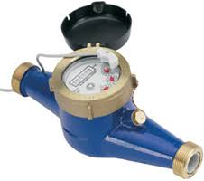 15mm HR Multijet Water Meter Male Thread with Pulse Output (1 litre Pulse)