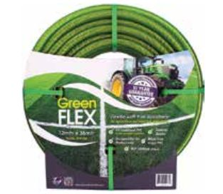 12mm Greenflex Ag/Industrial Quality Garden hose 100m Coil