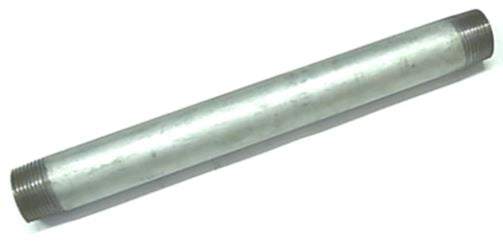 Pipe Pce Gal Steel 15mm X 250mm