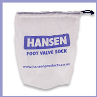 Hansen Fine Mesh Sock suits 50 & 63mm Foot Valves