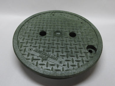235mm Round Lid (GREEN) suits HR0910VB