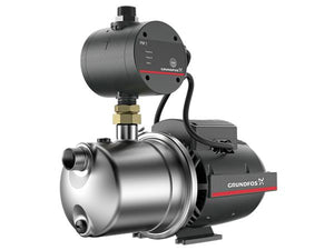Grundfos JP 3-42 Domestic Rain Water Pump with PM1 Pressure Manager 0.42kW (40lpm @ 2Bar)