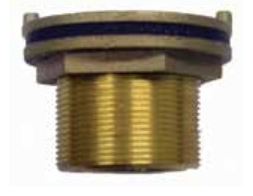 Large Brass Tank Outlet Fittings 80 - 100mm