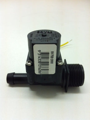 MV75 Micro Solenoid 24V AC 20mm Male x 13mm Barb HR Products 38 lpm