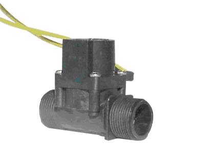 MV75 Micro Solenoid 24V AC 20mm Male x 20mm Male 38lpm Viton for Chemical Use.