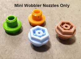 Nozzle #4 light blue for MiniWobbler (All Types)