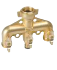 Brass 3 Way Manifold (Universal Screw-ON)