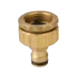 Universal Tap Adaptor Brass 12mm Click-On