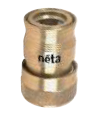 18mm Hose Connector Brass to 12mm Click-On