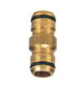 2 End Coupler Brass 18mm Click-On