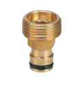 "20mm (3/4"") Brass Spray Adaptor 12mm Click-On"
