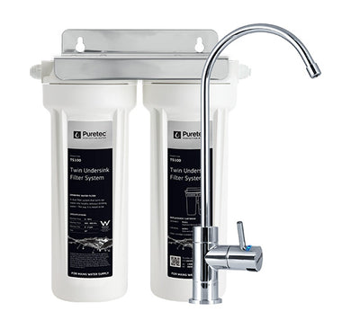 Puretec TS Series Twin Undersink systems