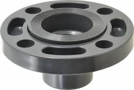 80mm PVC Vanstone (Rotating Ring) Flange Adaptor