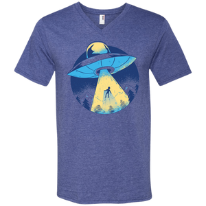 Alien Abduction Men's V-Neck