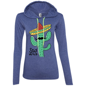 Stay Wild Cactus Ladies Sweatshirt