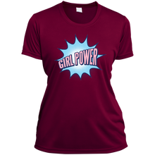 Girl Power Ladies V-Neck - Tempting Tees Graphic T-shirts