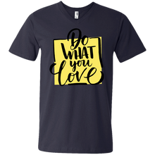 Do What You Love Men's V-Neck - Tempting Tees Graphic T-shirts