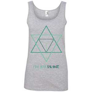 Sacred Geometry Ladies Tank Top