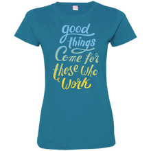 Good Things Come Ladies T-Shirt - Tempting Tees Graphic T-shirts