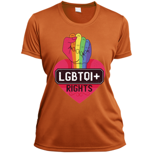 LGBTQI Rights Ladies V-Neck - Tempting Tees Graphic T-shirts