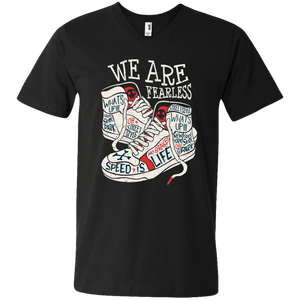 We Are Fearless Men's V-Neck - Tempting Tees Graphic T-shirts