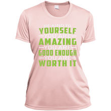 Be Kind to Yourself Ladies V-Neck - Tempting Tees Graphic T-shirts