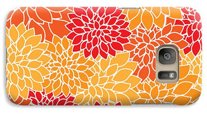 Abstract Flowers - Phone Case