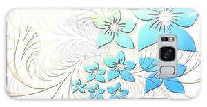 Blue Floral - Phone Case