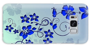 Blue Flower Love - Phone Case