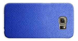 Blue Leather Design - Phone Case