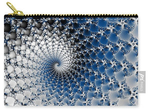 Blue Spiral - Carry-All Pouch