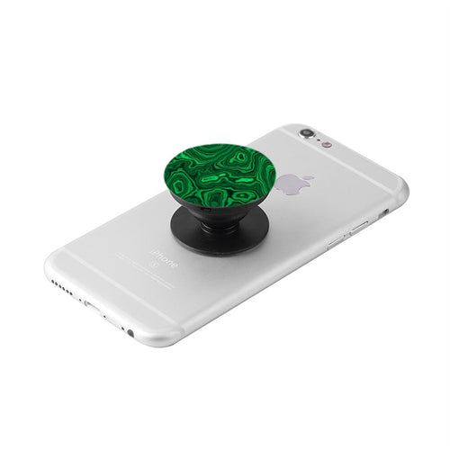 Malachite Print Collapsible Grip & Stand for Phones and Tablets