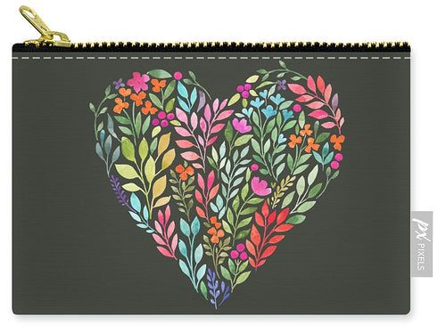 Floral Love - Carry-All Pouch