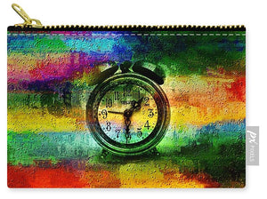Rainbow Clock - Carry-All Pouch