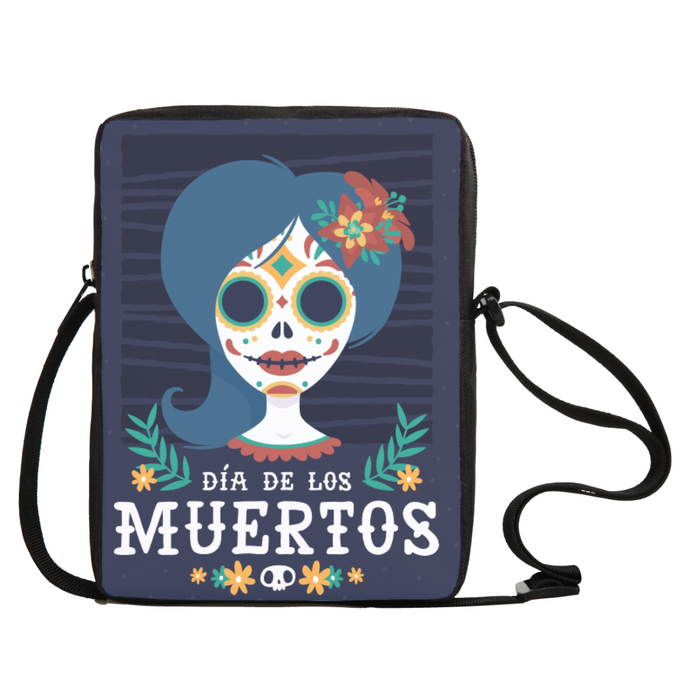 Day Of The Dead Crossboy Bag - Tempting Tees Graphic T-shirts