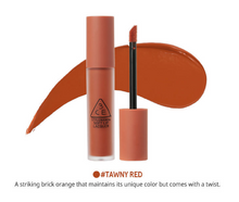 3CE Soft Lip Lacquer - Tawny Red