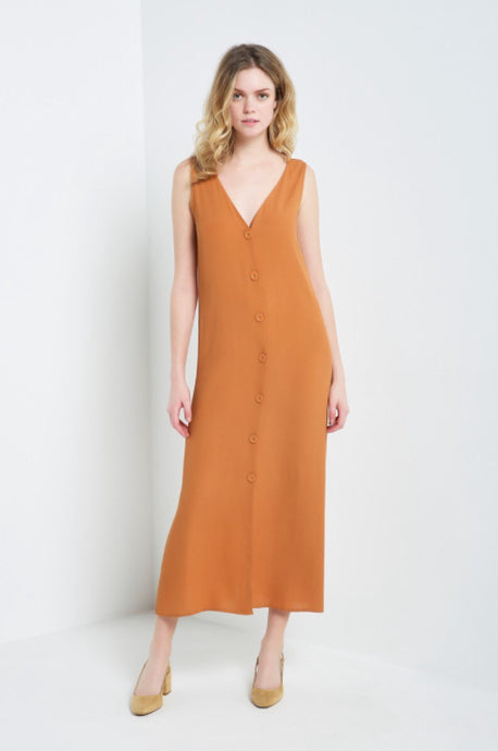MAITAI - Button Down Long Dress