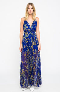 SKYLAR + MADISON - Flower Printed Maxi Dress