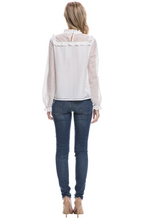 AFTER MARKET - Woven Long Sleeve Top