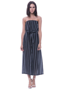 AFTER MARKET - STRIPE WOVEN ROMPER