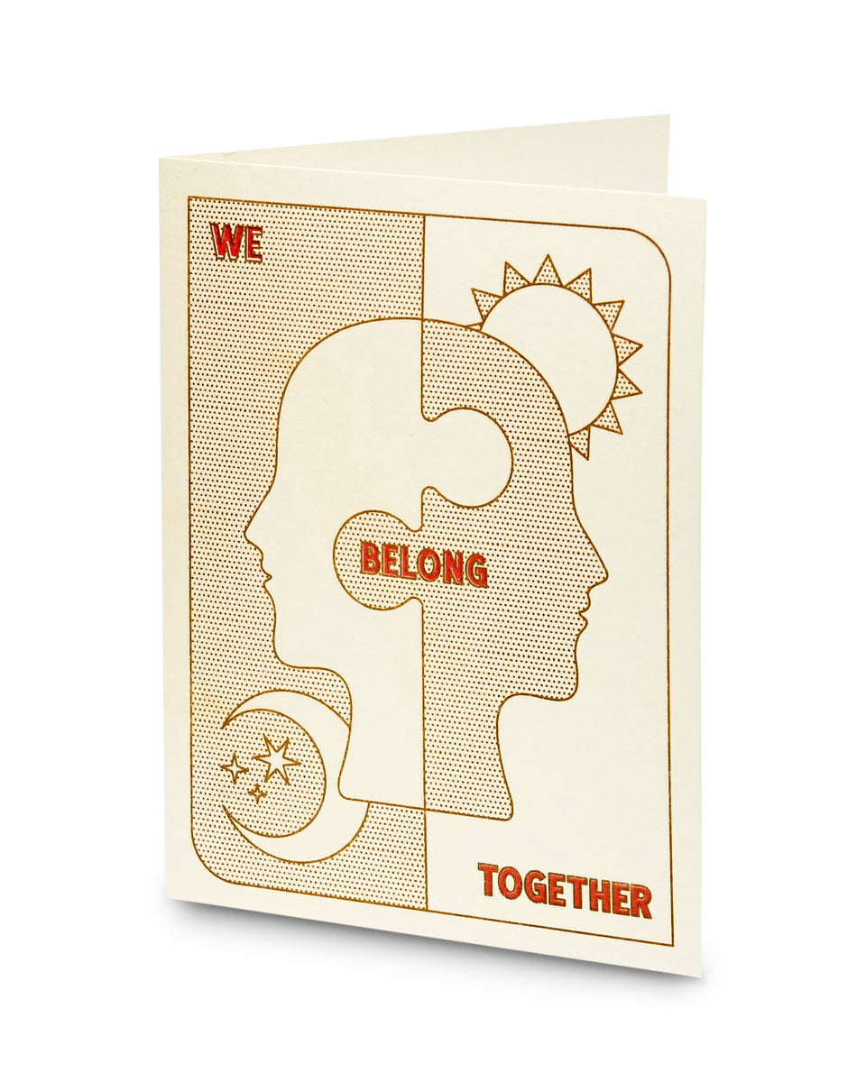 We Belong Together, Greeting Card - Relative Goods