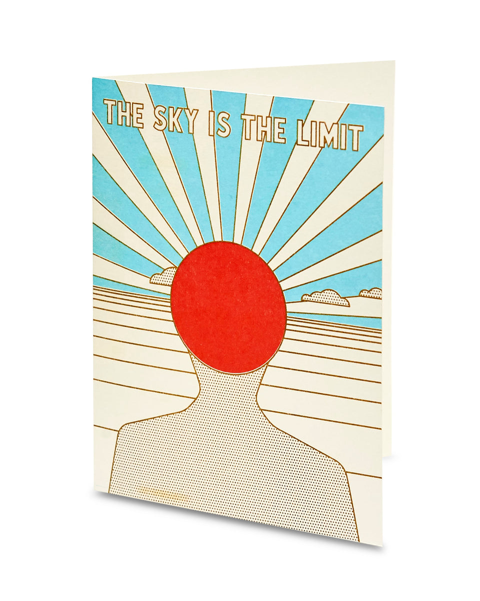 The Sky is the Limit, Greeting Card - Relative Goods