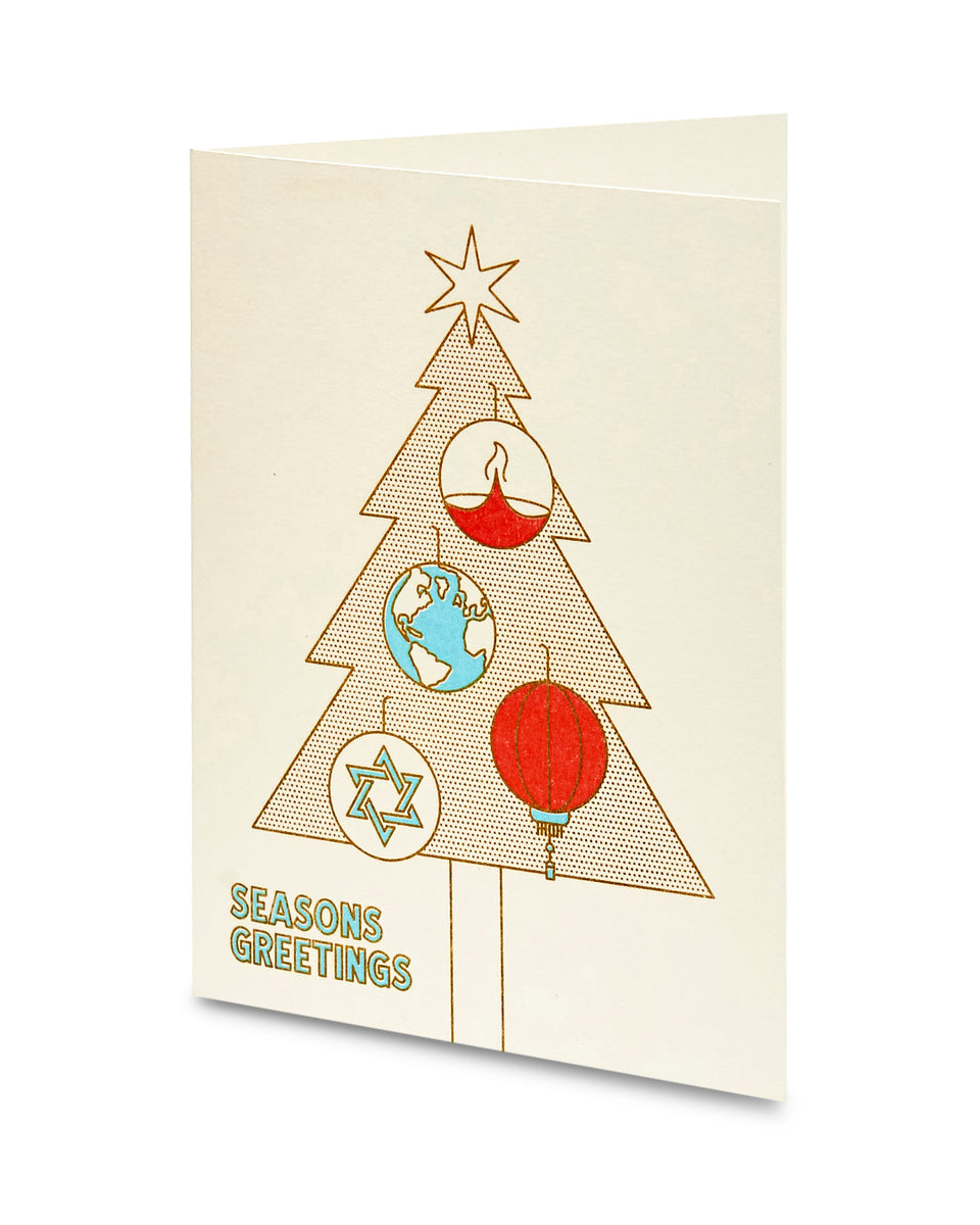 Season's Greetings, Greeting Card - Relative Goods