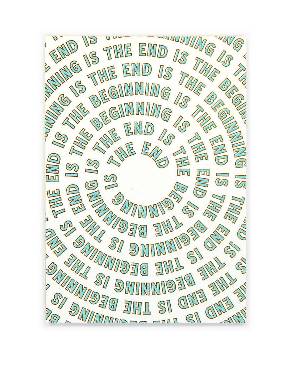 The End is the Beginning, Meditation Mini-Print - Relative Goods
