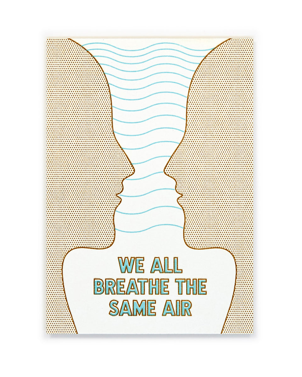 We All Breathe the Same Air, Meditation Mini-Print - Relative Goods