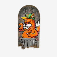 Spray Cat Skate Deck